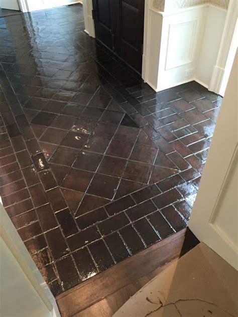 staining saltillo tile tile floor diy