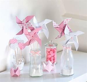 Decoration Pour Bapteme Fille : deco bapteme ava ~ Mglfilm.com Idées de Décoration