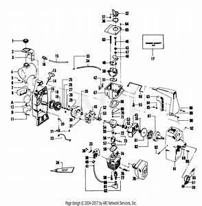 Poulan 1720 Gas Trimmer Parts Diagram For Engine Assemblies