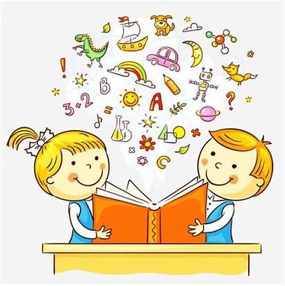 Knowledge Reading Child Clipart Children Storytelling Transparent