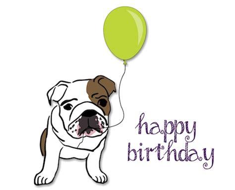 happy birthday bulldog  happy birthday ecards greeting cards