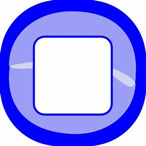 Stop Blue Button Clip Art at Clker.com - vector clip art ...