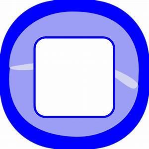 Stop Blue Button Clip Art at Clker.com - vector clip art ...