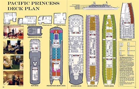 Ms Princess Deck Plan by Mv Sea Venture Pacific Princess Pacific