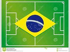 Soccer field brazil flag stock photo Image of derby