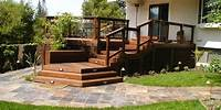 great patio wood design ideas Deck Designs and Ideas for Backyards and Front Yards ...