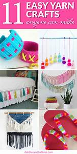 11, Easy, Yarn, Crafts, Anybody, Can, Make