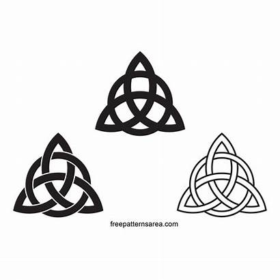 Celtic Triquetra Knot Trinity Symbol Meaning Charmed