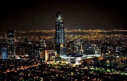 Santiago Chile Night Noche Wallpapers Desktop Wallpapersafari