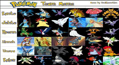 Pokemon Team Memes - pokemon team meme images pokemon images