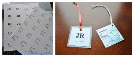 wedding invitation favor tag template wedding ideas
