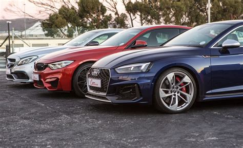 Audi Rs5 Vs Bmw M4 Competition Pack Vs Mercedes-amg C63 S