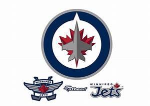 Winnipeg Jets Logo Wall Decal Shop Fathead® for Winnipeg