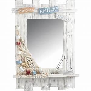Miroir rectangulaire décor marin, à partir de 32 90