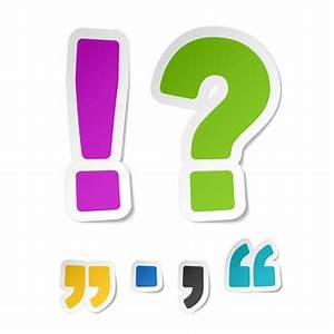 Punctuation Clipart - Clipart Suggest