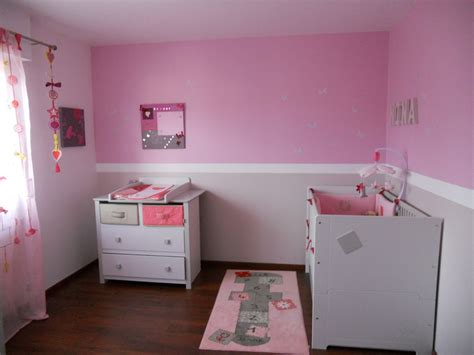 couleur chambre bebe fille peinture chambre fille chambres bébés