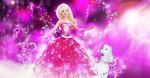 Pretty Barbie and fairy wallpaper ~ Cartoon Wallpaper