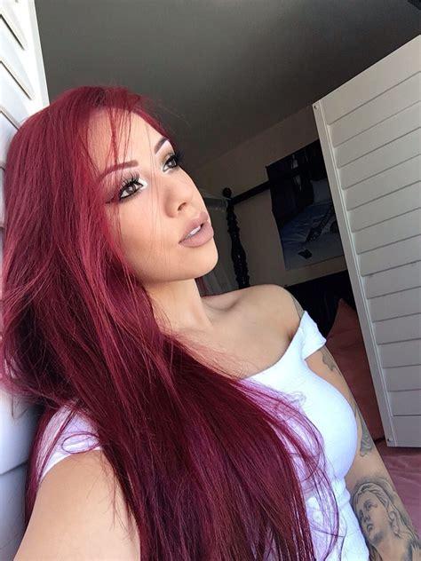 Salice Rose Rose hair color Hair beauty Long curly hair