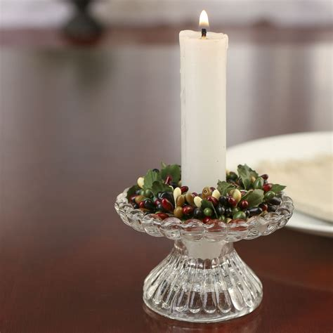 burgundy black  cream pip berry candle ring candles