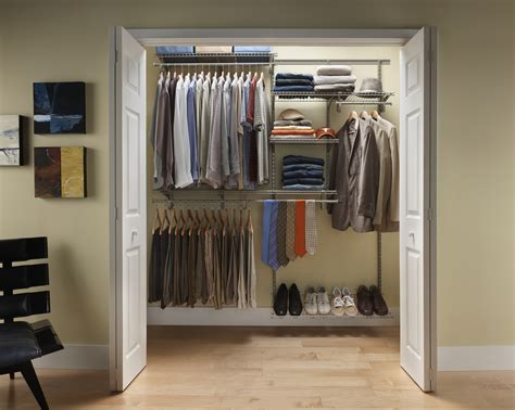 closetmaid shelftrack  ft  ft  closet organizer kit