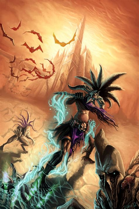 17 Best Images About Diablo 3 Fan Art On Pinterest Maze