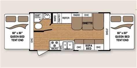 2011 coleman travel trailer floor plans 2012 coleman by dutchmen ultra lite series m 184