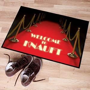 Roter Teppich Kaufen : personalisierbare fu matte roter teppich online kaufen online shop ~ Markanthonyermac.com Haus und Dekorationen