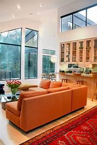 Stunning Orange Sofa decorating ideas