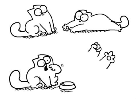 Simon's Cat And His Sister's Dog  Dryden Art