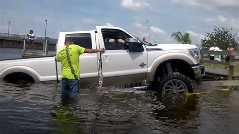 new ford truck trucked up idiot drowns new ford super duty ford trucks com