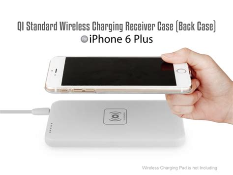 iphone 6 plus wireless charging qi standard wireless charging receiver for iphone 6