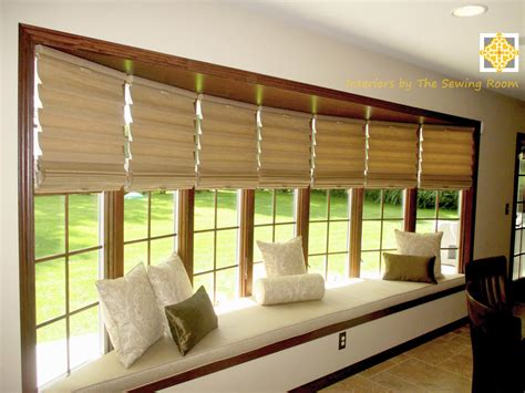 interior bay window treatment ideas for living room home