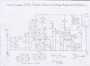 progressive crystal set to regenerative receiver using With valve radio circuit