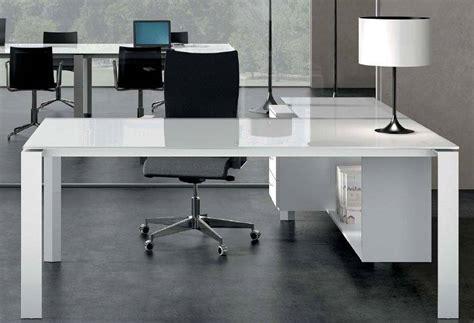 bureau bordeaux bureau direction en verre blanc ou couleur mobilier de