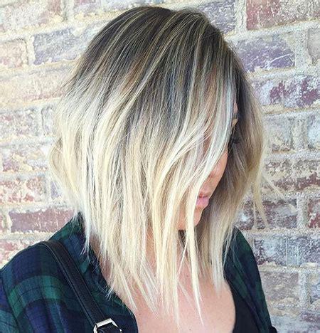 blonde lob haircut blonde hairstyles