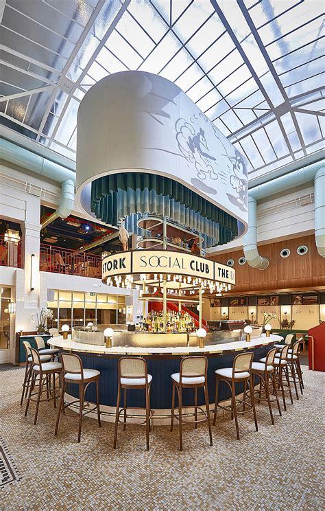 drunky stork social club restaurant bar design awards