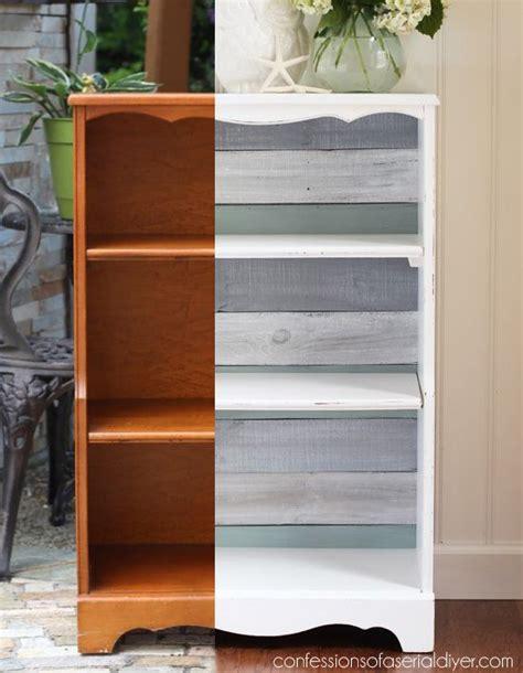 bookcase makeover bookcase makeover bookshelf makeover