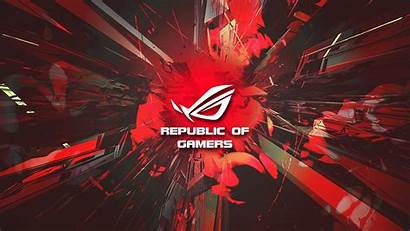 Rog Asus Wallpapers Background Republic Gamers Backgrounds
