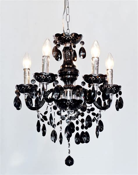 Black White Chandelier by 12 Ideas Of Vintage Black Chandelier
