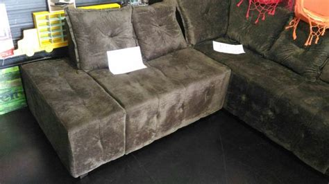 mega promocao sofa de canto novo muito barato ofertas