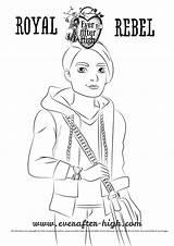 Coloring Hunter Huntsman Ever Sheets Dexter Charming Drawing Everafter Natural sketch template