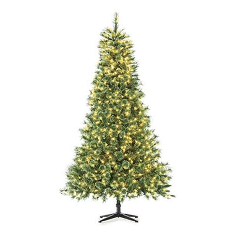 7 pre lit artificial christmas tree deluxe cashmere with