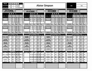 gold strength conditioning templates excel training With strength and conditioning templates