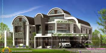 Harmonious Modern Houses Designs by Ultra Modern House Kerala Home Design And Floor Plans