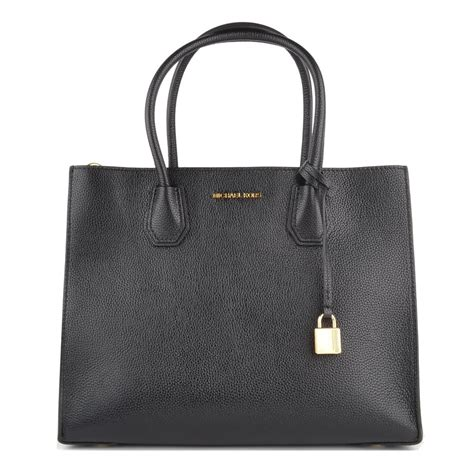 michael kors mercer michael michael kors mercer black large convertible satchel