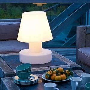 Lampe De Table Rechargeable : lampe portable avec batterie rechargeable h40cm jardinchic ~ Teatrodelosmanantiales.com Idées de Décoration