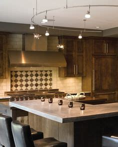 best track lighting for kitchen how to light a wall with recessed and track lighting 7798