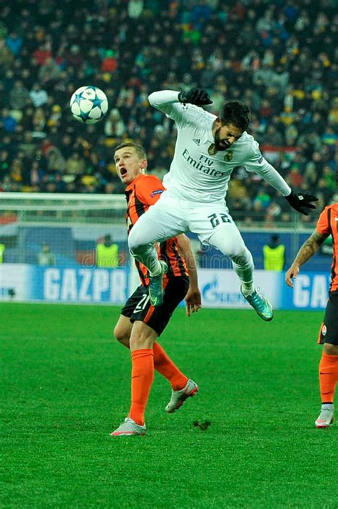 For the second time this season, spanish giant real madrid has been stunned by shakhtar donetsk in the champions league. FC Shakhtar Vs FC Real Madrid Editorial Stock Image ...