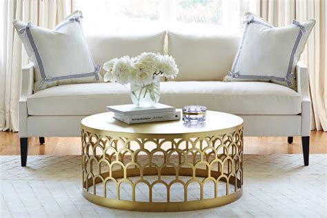 5 round coffee tables for a beautiful and chic living room
