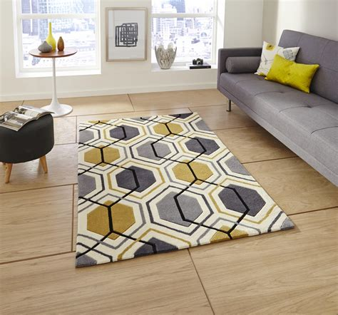 Purple Grey And Turquoise Living Room by Hong Kong Hk7526 Rug Grey Yellow Buy Rugs Online At